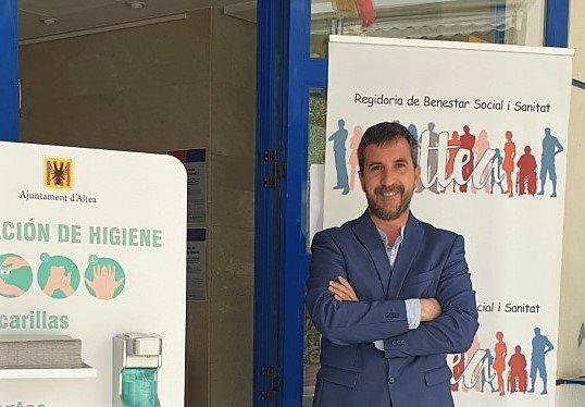 """José Luís León Gascón: """" En Altea el personal de Servicios Sociales ha  estado al pie del cañón durante esta pandemia desde el primer día y eso hay  que reconocerlo"""" – Ahora"""